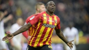 joie de COULIBALY Adamo (Lens) apres son but